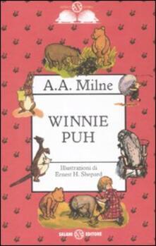 Winnie Puh - A. A. Milne - copertina