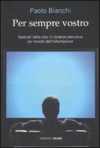 Per sempre vostro - Paolo Bianchi - copertina