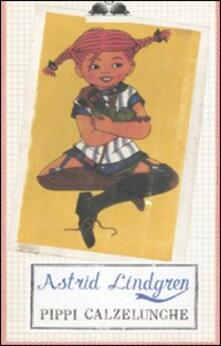 Pippi Calzelunghe - Astrid Lindgren - copertina