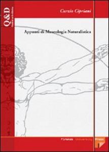 Appunti di museologia naturalistica