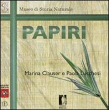 Papiri - Marina Clauser,Paola Lucchesi - copertina