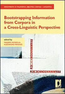 Bootstrapping information from corpora in a cross-linguistic perspective