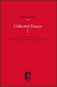 Collected essays. Vol. 1