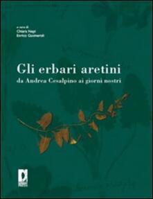 Vitalitart.it Gli erbari aretini da Andrea Cesalpino ai giorni nostri Image