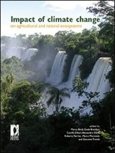 Impact of climate change on agricultural and natural ecosystems