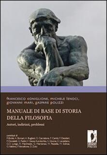 Laboratorioprovematerialilct.it Manuale di base di storia della filosofia. Autori, indirizzi, problemi Image