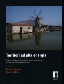 Listadelpopolo.it Territori ad alta energia. Governo del territorio e pianificazione energetica sostenibile: metodi ed esperienze Image