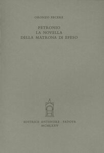 Petronio: la novella della matrona di Efeso