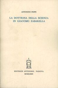 La dottrina della scienza in Giacomo Zabarella