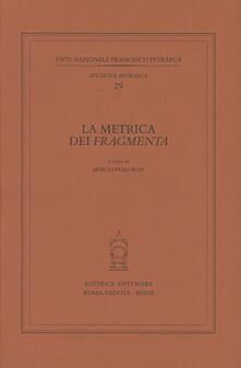 Warholgenova.it La metrica dei «Fragmenta» Image