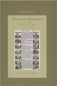 Guerrin Meschino. Ediz. critica