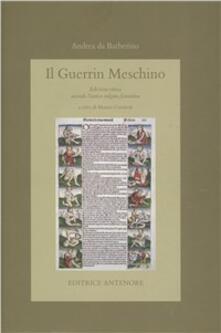 Guerrin Meschino. Ediz. critica - Andrea da Barberino - copertina