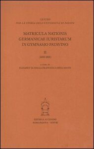 Matricula nationis germanicae 1605-1801