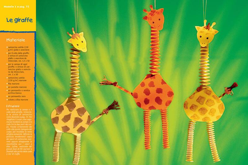 Idee Creative Per Bambini : Idee creative per bambini divertirsi con la carta e il cartoncino