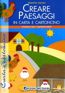 Ristorantezintonio.it Creare paesaggi con carta e cartoncino Image