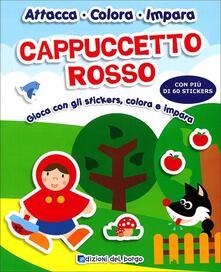 Camfeed.it Cappuccetto rosso. Gioca con gli stickers, colora e impara. Ediz. illustrata Image
