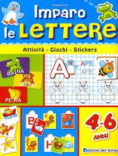 Imparo le lettere. Con stickers