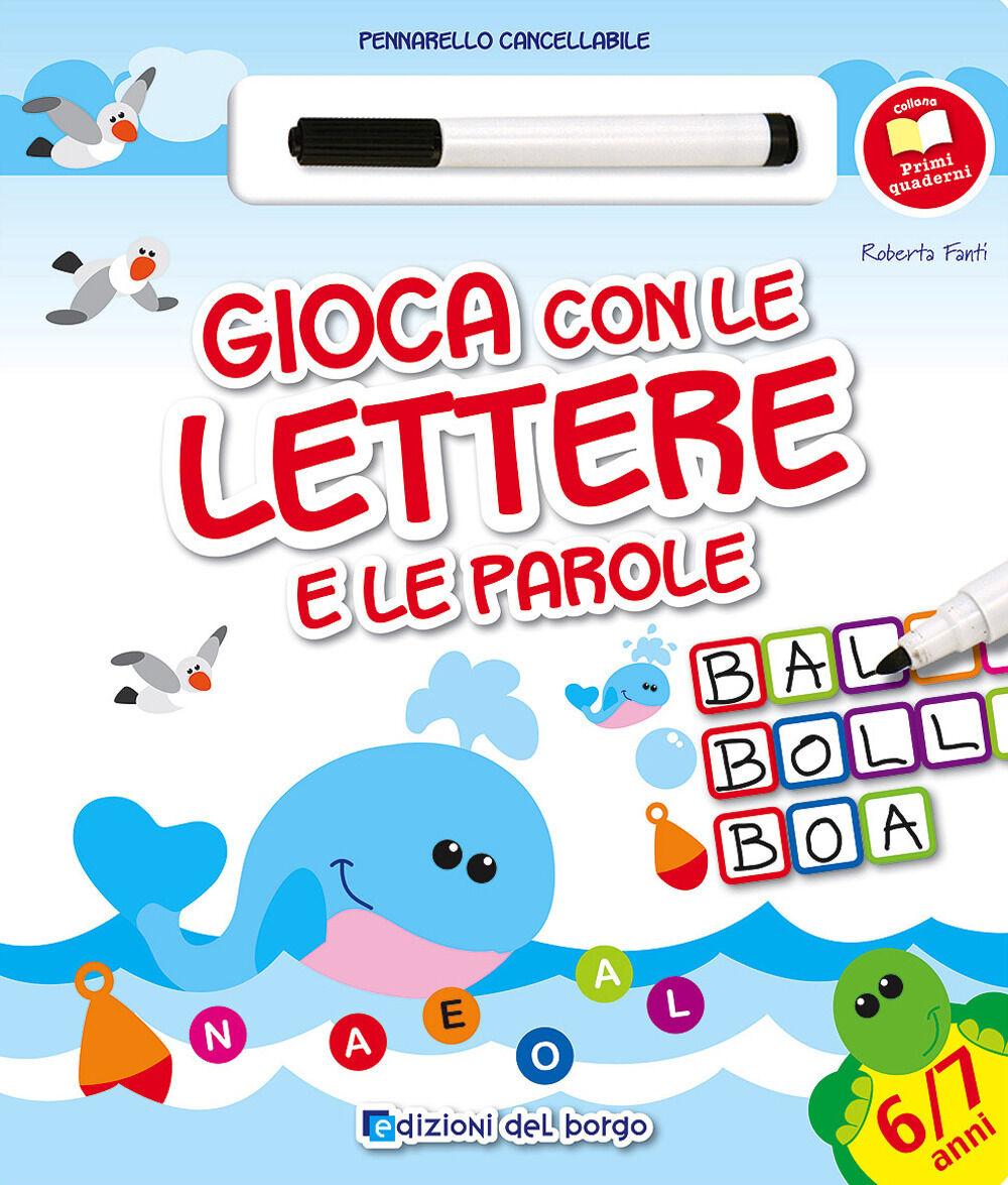 Gioca con le lettere e le parole. Con gadget