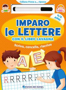 Nordestcaffeisola.it Imparo le lettere con il libro lavagna. Scrivo, cancello, riscrivo. 4-6 anni. Con pennarello con inchiostro a base d'acqua Image
