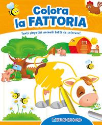 Colora la fattoria. Con scatola con 6 pennarelli - Ambrosini Ilaria - wuz.it