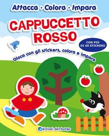 Warholgenova.it Cappuccetto rosso. Gioca con gli stickers, colora e impara. Con adesivi Image