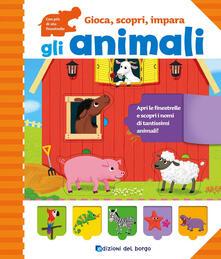 Steamcon.it Gli animali. Gioca, scopri, impara. Ediz. a colori Image