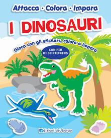 Radiospeed.it I dinosauri. Con adesivi Image