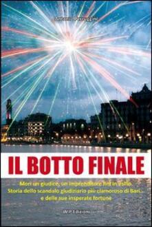 Il botto finale - Antonio Perruggini - copertina