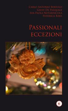 Passionali eccezioni - copertina