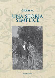 Una storia semplice - Giudibra - copertina