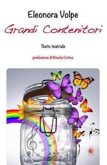 Grandi contenitori - Eleonora Volpe - copertina