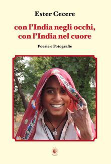 Con l'India negli occhi, con l'India nel cuore - Ester Cecere - copertina