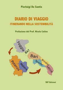 Diario di viaggio itinerando nella sostenibilità - Pierluigi De Santis - copertina