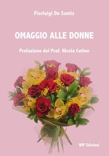 Omaggio alle donne - Pierluigi De Santis - copertina