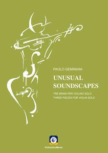 Capturtokyoedition.it Unusual soundscapes. Tre brani per tre violini solo. Partitura Image