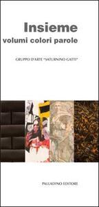 Insieme volumi colori parole. Catalogo della mostra (L'Aquila, 26 novembre-3 dicembre 2011)