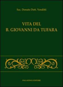 Vita del B. Giovanni da Tufara - Donato Venditti - copertina