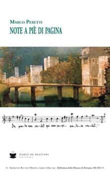 Note a pie' di pagina - Marco Peretti - copertina