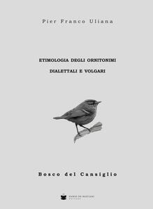 Etimologia degli ornitonimi dialettali e volgari