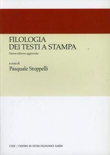 Writersfactory.it Filologia dei testi a stampa Image