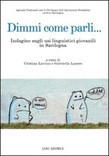 Dimmi come parli... Indagine sugli usi linguistici giovanili in Sardegna - copertina