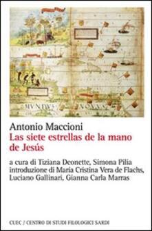 Las siete estrellas de la mano de Jesús - Antonio Maccioni - copertina