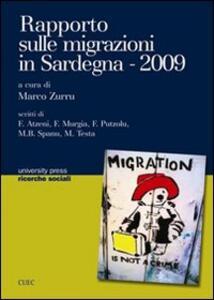 Rapporto sulle migrazioni in Sardegna 2009