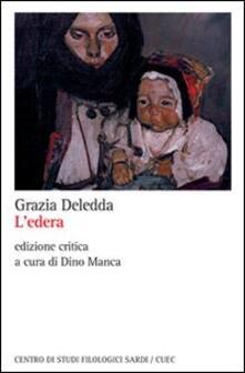 L' edera - Grazia Deledda - copertina