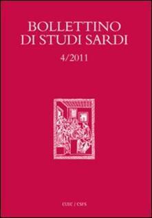 Bollettino di studi sardi (2011). Vol. 4 - copertina