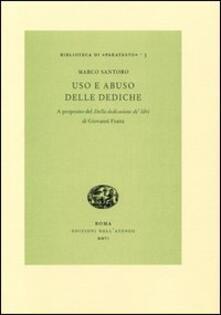 Uso e abuso delle dediche. A proposito del «Della dedicatione de' libri» di Giovanni Fratta