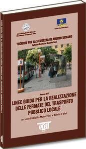 Linee guida per la realizzazione delle fermate del trasporto pubblico locale