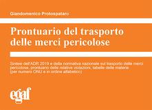 Ipabsantonioabatetrino.it Prontuario del trasporto delle merci pericolose Image