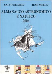 Almanacco astronomico e nautico 2006