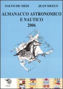 Camfeed.it Almanacco astronomico e nautico 2006 Image